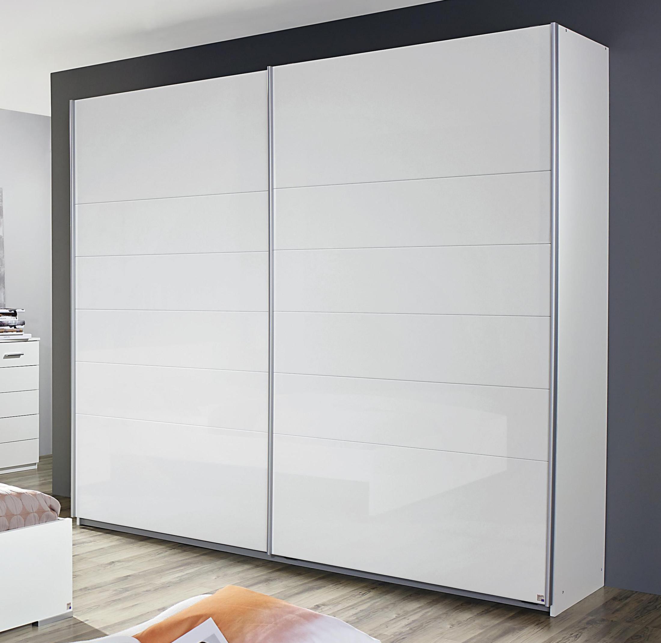 schwebet renschrank weiss hochglanz woody 33 01179 modern m bel24. Black Bedroom Furniture Sets. Home Design Ideas