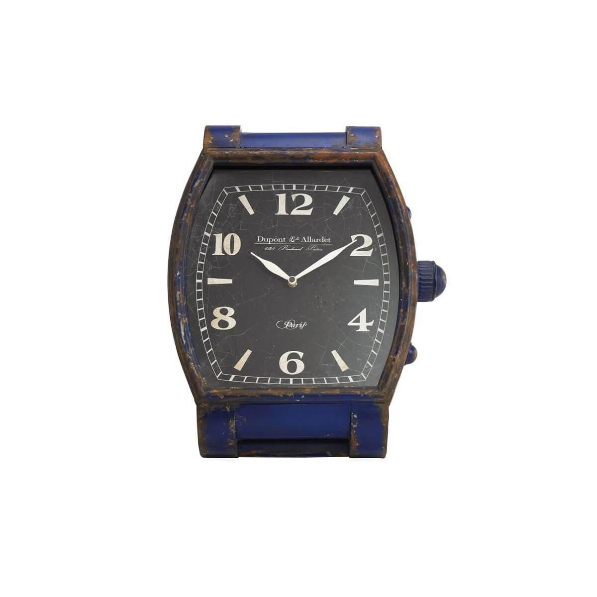 Kare Design Tischuhr Blue