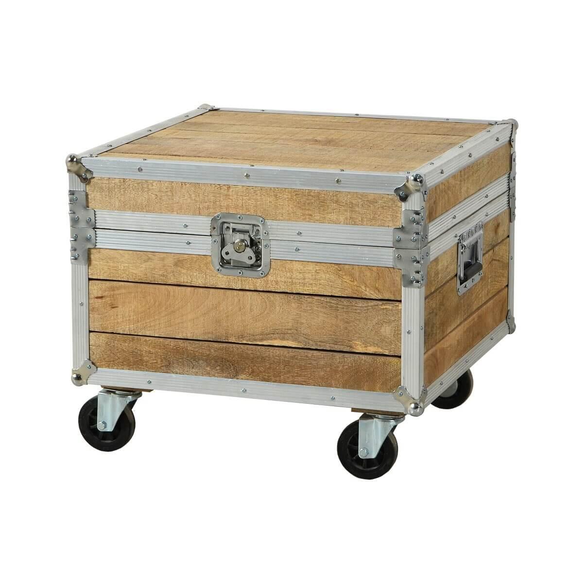 26156 truhe rollbar mango massiv aluminium modern 1 m bel24 for Moebel24 shop