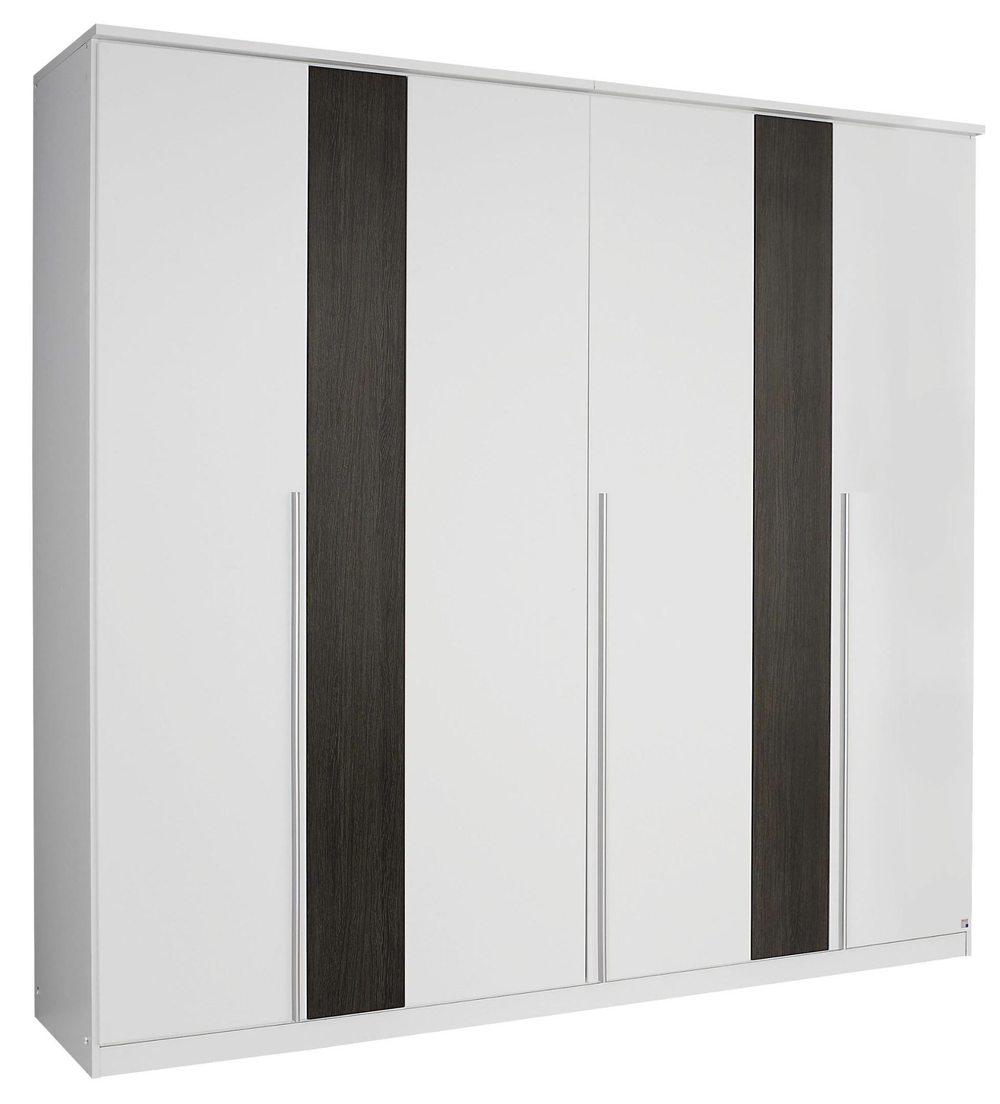 kleiderschrank alpinweiss wenge shiraz woody 33 00914 holz modern m bel24. Black Bedroom Furniture Sets. Home Design Ideas