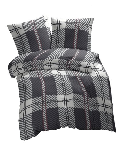 4 teilig 2 x 2teilig sparset et rea baumwolle bettw sche. Black Bedroom Furniture Sets. Home Design Ideas