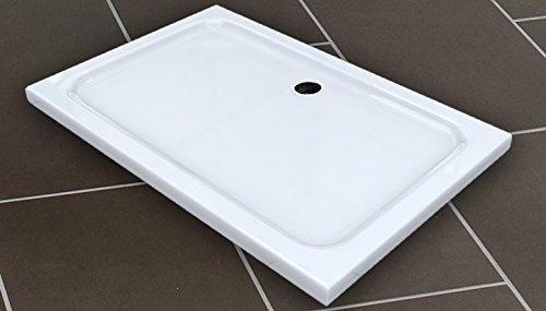 50mm Duschtasse 120 x 90cm / Duschwanne für Duschkabine Dusche Duschwand Duschabtrennung