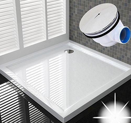 90x90 Duschtasse Duschwanne Flach Wanne H 5 cm Für Duschabtrennung Duschkabine D