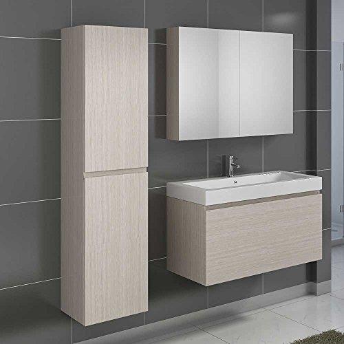 badm bel set in eiche sonoma mit waschtisch 3 teilig pharao24 m bel24. Black Bedroom Furniture Sets. Home Design Ideas