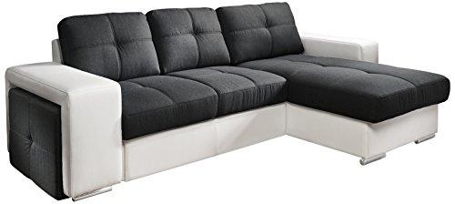 cotta c209660 c310 h350 polsterecke mit schlaffunktion und bettkasten 278 x 157 cm kunstleder. Black Bedroom Furniture Sets. Home Design Ideas