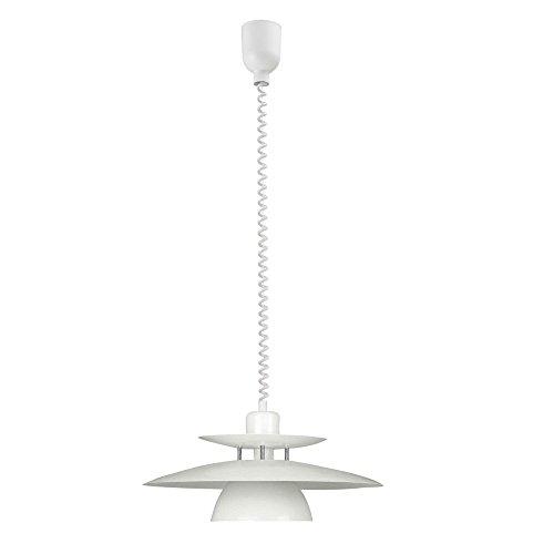Decken Pendelleuchte Lampe Höhenverstellbar Esszimmer Beleuchtung 1xE27 IP20 Eglo BRENDA