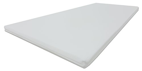 Dibapur® PRO SOFT 3D Air Fresh Bezug Kaltschaum Topper Matratzenauflage (3D Air 140x190) x ca. 5 cm Kern mit Bezug ca. 5,2 cm - Made in Germany