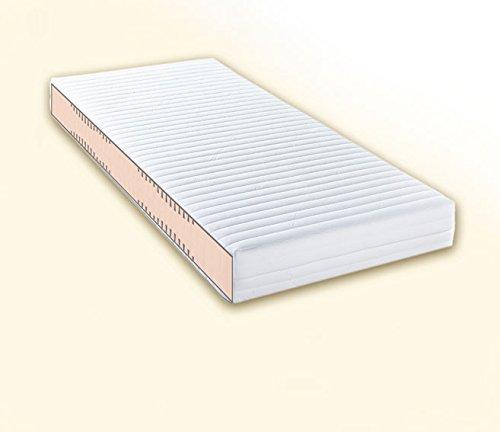 Doctorsleep medidoc 7 Zonen Kaltschaum/Comfortschaum Kern Matratze 17,5 cm mit Bezug - Medicott Größe: 120x200cm Härtegrad 2