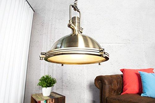 DuNord Design Hängeleuchte FABRIQUE bronze 45 cm