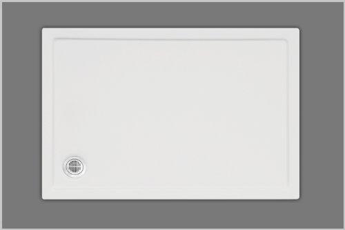 Duschwanne Rechteck Ablauf vorne links weiß 90x120cm x1,5cm