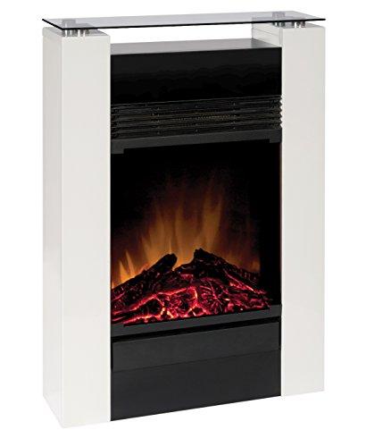 EWT 205131 Gisella white elektrisches Kaminfeuer mit Fernbedienung