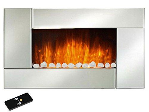 elektro wandkamin noblesse 1000w 2000w mit flammeneffekt alles einstellbar ber eine. Black Bedroom Furniture Sets. Home Design Ideas
