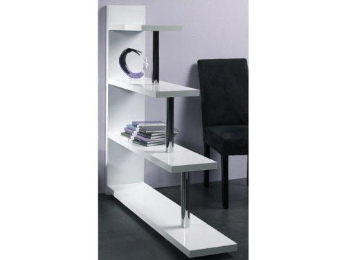 HAKU Möbel 87372 Regal 120 x 29 x 137 cm, weiß