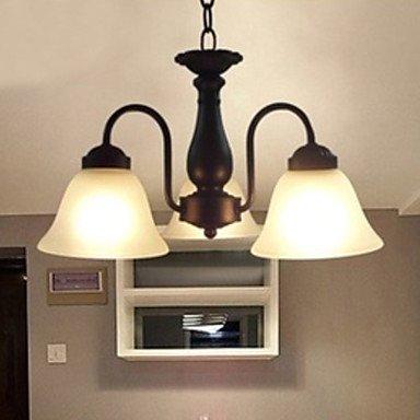 HuaJing® Max 60W Traditionell-Klassisch Metall Pendelleuchten Wohnzimmer /Schlafzimmer Esszimmer, 220-240V