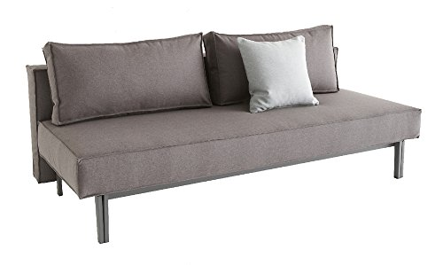 Innovation - Sly Schlafsofa - granit - grau - Design - Sofa