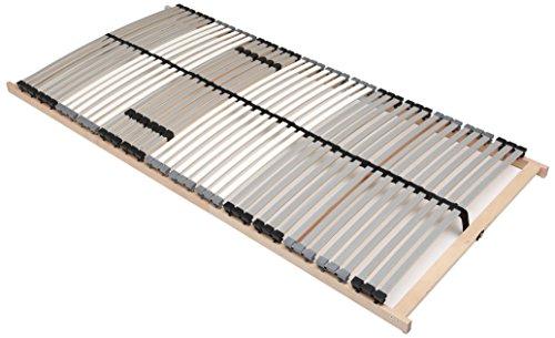 Interbett 750719 Premium Fix NV, Lattenrost mit 42 fleixblen Leisten, 7-Zonen, 140 x 200 cm