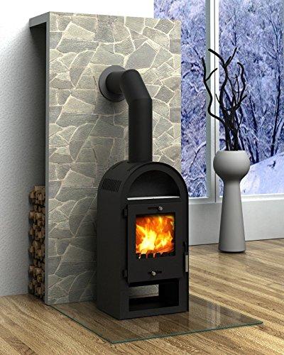 kaminofen rundbogen 7 kw w rmeleistung kamin heizofen kohleofen m bel24. Black Bedroom Furniture Sets. Home Design Ideas