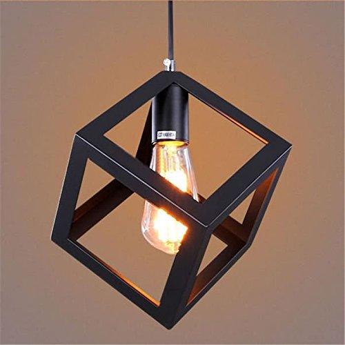Kreative LED Hängeleuchte Pendelleuchte Retro Edison Hänge Deckenbeleuchtung für Esstisch Schlafzimmer Wohnzimmer Küchen 1X E27 Max. 60W