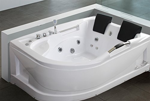 luxus4home 2 personen whirlpool badewanne rondel exklusiv 180 x 66 x 120 cm m bel24. Black Bedroom Furniture Sets. Home Design Ideas