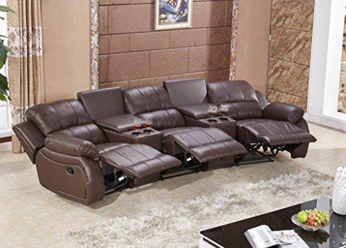 ledersofa kinosofa relaxcouch fernsehsofa 5129 cup 3 377. Black Bedroom Furniture Sets. Home Design Ideas
