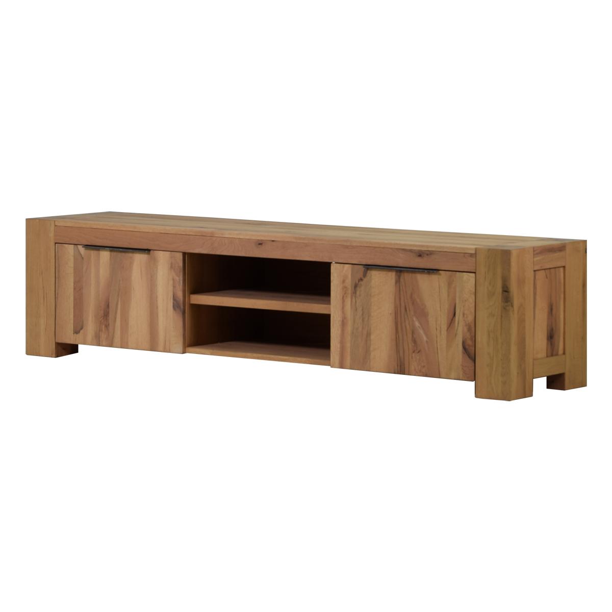 Tv lowboard in eiche natural 210 cm m bel24 for Moebel24 shop