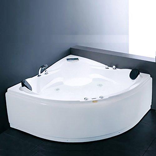 "Luxus4Home Whirlpool ""Boras"" 2 Pers. Eckwhirlpool 150 x 150 cm"