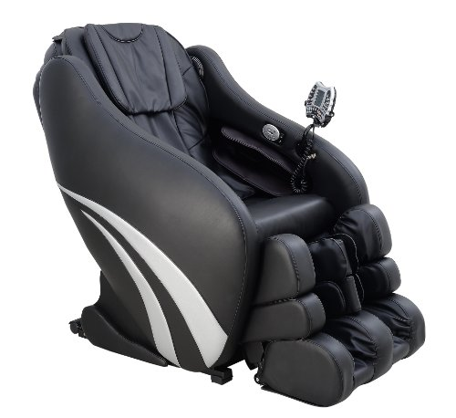 Markteinführungspreis - Multifunktions-Massagesessel   Massagestuhl schwarz mit Shiatsu Massage Welcon Prestige 3D Zero Gravity mit Heizung, integriertem Sound-System und Stereo Lautsprechern, kompatibel mit iPhone, Android oder Tablet-PC