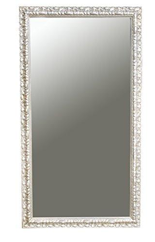 Moderner Wandspiegel TESSA silber 132 x 72 cm