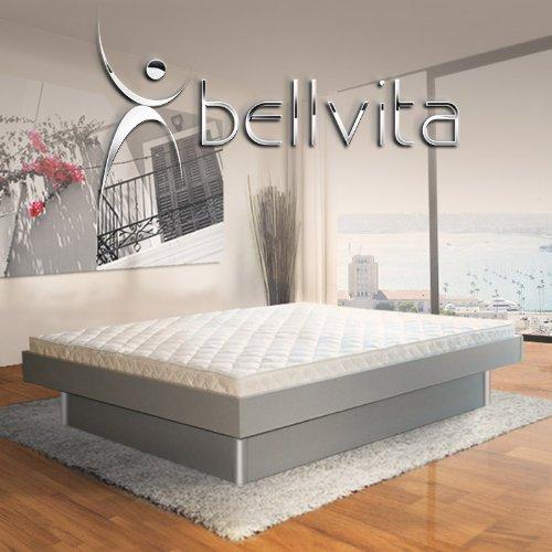 ORIGINAL bellvita Mesamoll II Wasserbett inkl. Lieferung mit Aufbau durch Fachpersonal in Komforthöhe und Bettrahmen 160 cm x 200 cm