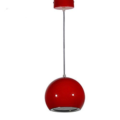 QXJ Pendelleuchten - LED - Zeitgenössisch/Kugel - Esszimmer/Küche/Studierzimmer/Büro/Kinderzimmer/Spielraum/Korridor , Red