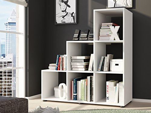 Raumteiler Treppenregal Regal Stufenregal Bücherregal Aktenregal