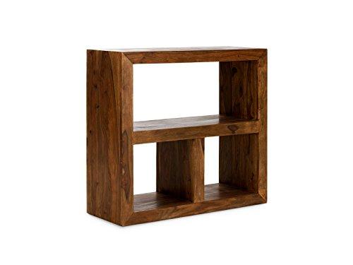 Regal 3 Fächer 88x35x95 honig Palisander Cube