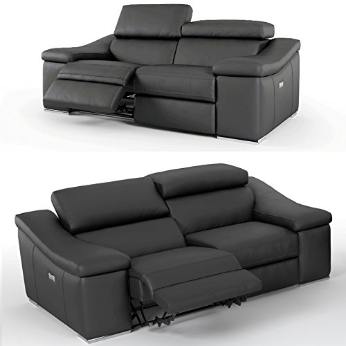 Relax Sofa Ledersofa Ledercouch Funktionssofa Funktionscouch Sofa Couch 2-Sitzer