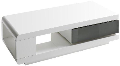 robas lund 59031wg4 couchtisch ida 1 schubkasten grau 360 grad drehbar 120 x 60 x 36 cm mdf. Black Bedroom Furniture Sets. Home Design Ideas