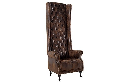thronstuhl sessel royal chair im antik look polstersessel thron thronsessel m bel24. Black Bedroom Furniture Sets. Home Design Ideas