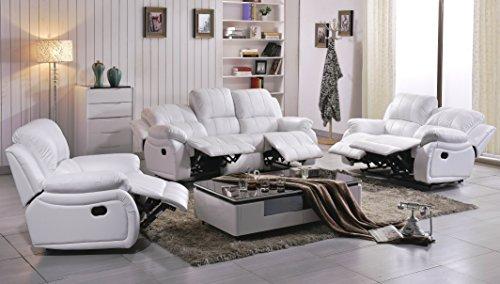 Voll-Leder Sofagarnitur Fernsehsofas Relaxsofas 5129-3+2+1-2149