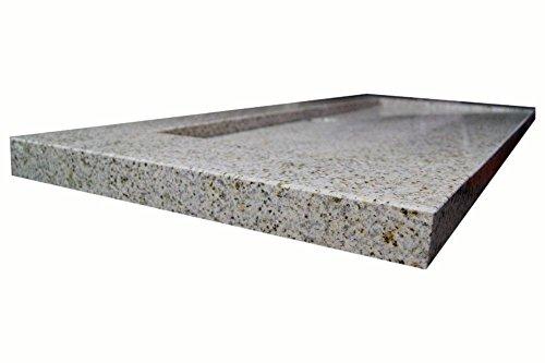 waschbecken aus naturstein granit model bern 100 gelb gesprenkelt g682 m bel24. Black Bedroom Furniture Sets. Home Design Ideas