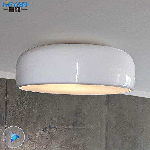 ZZYLIGHT-LED Moderne Deckenleuchten Pendelleuchte Unterputz Lihgt für Schlafzimmer Wohnzimmer Flur esszimmer, 35cm Schwarz +LED
