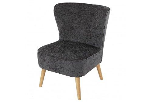grauer Retro Club Sessel Polstersessel grau Loungesesel Skandinavisches Design