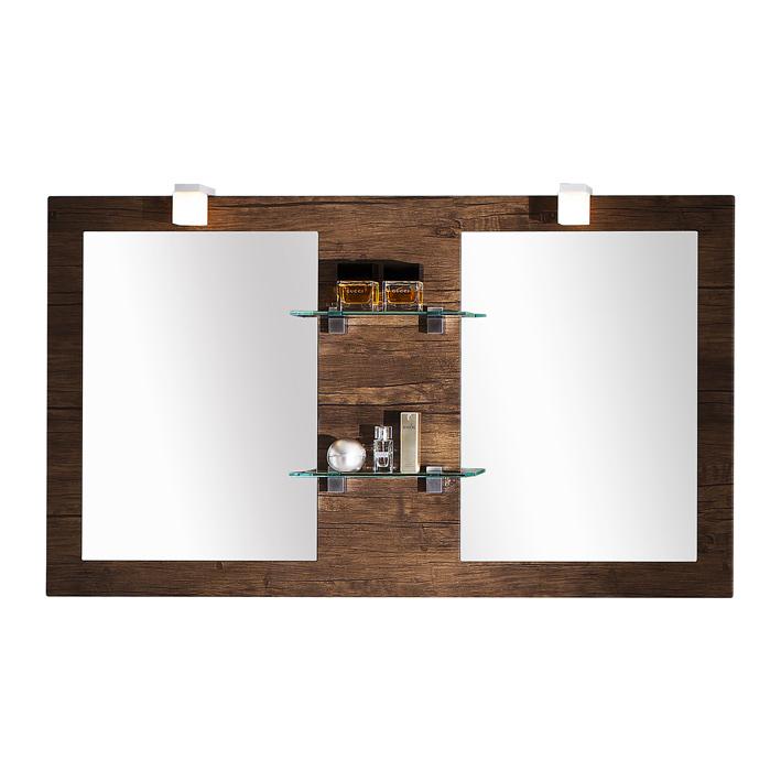 Quentis Spiegel Calis 136, Holzedkor antik