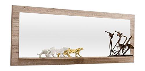 trendteam PT45188 Wandspiegel Eiche Sand Nachbildung, BxHxT 168 x 65 x 14,5 cm