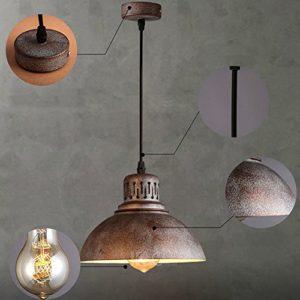 yueweiretro vintage deckenlampen pendelleuchte hngeleuchte lampe leuchte kupfer loft 0 m bel24. Black Bedroom Furniture Sets. Home Design Ideas