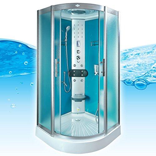 AcquaVapore DTP8058-2112 Dusche Dampfdusche Duschtempel Duschkabine 100x100