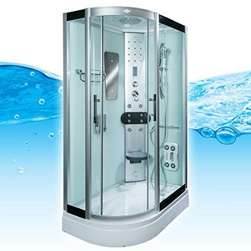 AcquaVapore DTP8060-7002L Dusche Dampfdusche Duschtempel Duschkabine 120x80