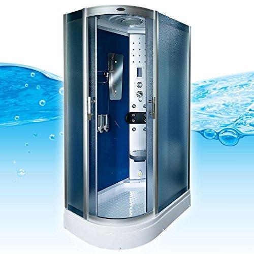 AcquaVapore DTP8060-7213L Dusche Dampfdusche Duschtempel Duschkabine -Th. 120x80, EasyClean Versiegelung der Scheiben:2K Scheiben Versiegelung +89.-EUR
