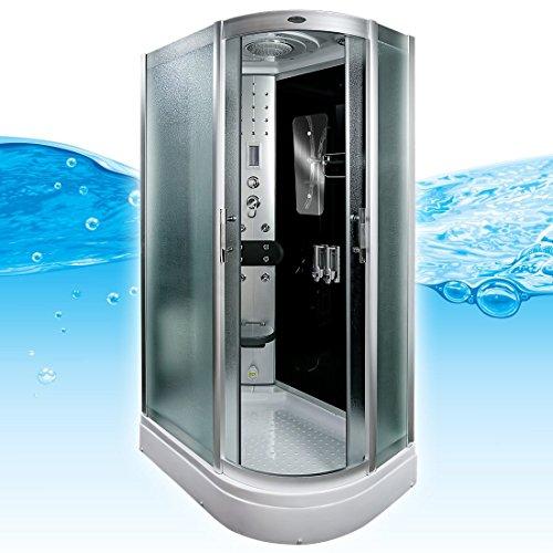 AcquaVapore DTP8060-7313R Dusche Dampfdusche Duschtempel Duschkabine -Th. 80x120, EasyClean Versiegelung der Scheiben:2K Scheiben Versiegelung +89.-EUR