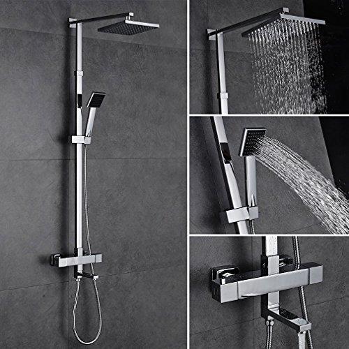 kinse elegant berkopf brauseset duschset inkl wandhalterung handbrause m bel24. Black Bedroom Furniture Sets. Home Design Ideas