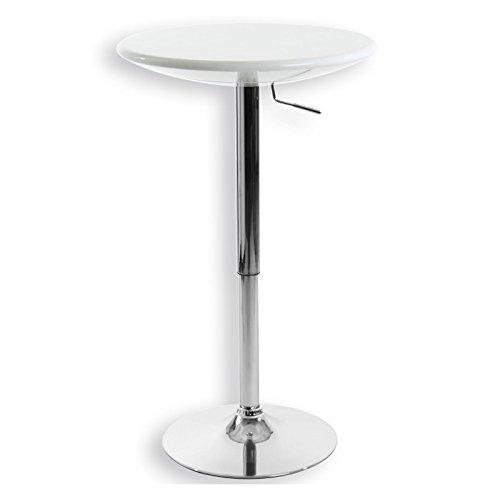 bartisch bistrotisch beistelltisch stehtisch dominik wei. Black Bedroom Furniture Sets. Home Design Ideas