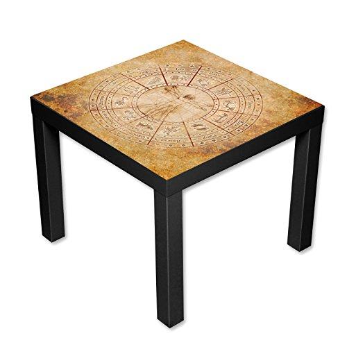 couchtisch beistelltisch motiv da vinci vitruvianischer. Black Bedroom Furniture Sets. Home Design Ideas