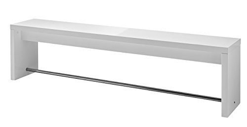 Germania 4072-84 Sitzbank GW-Caracas, 170 x 45 x 35 cm, weiß